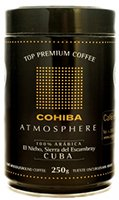 Cohiba coffee tin