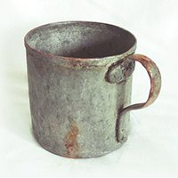 Old coffee cup